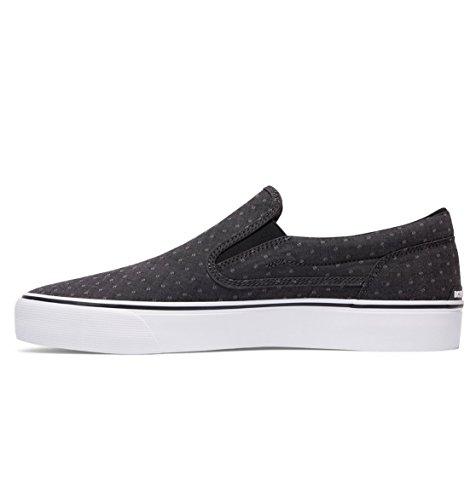 DC Trasé homme Slip-On Shoe T Black/Polka Dot