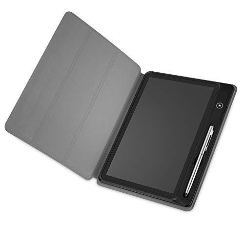 BECROWM EU 10,1 Zoll LCD Schreib-Tablet eWriter Zeichenbrett Doodle Pad Geschenke für Studenten Erwachsene Lehrer Business Meeting Handschriftblock mit Faltbarer Hülle für Bürounterricht - Pad Sketch Tablet