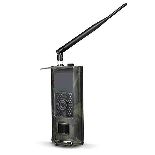 Lixada 16MP 1080 P 2G SMS GSM Trail Kamera Infrarot Nachtsicht Jagd Spiel Kamera Outdoor Wildlife Scouting Kamera mit PIR Sensor IP54 Wasserdicht