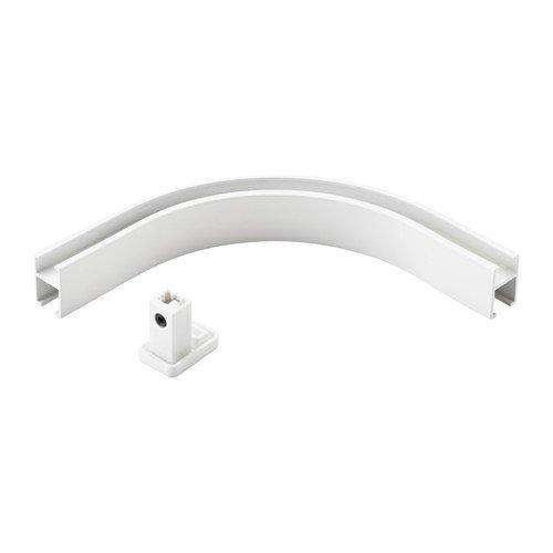 IKEA VIDGA Eckverbindung für Gardinenschienen; in weiß; 1-läufig