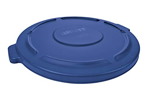 Rubbermaid 1779731 Brute Lid for 75.7 L Container, Blue (Rubbermaid Brute Abfalleimer)