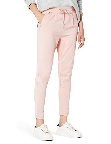 ONLY Damen onlPOPTRASH Easy Colour Pant PNT NOOS Hose, Rosa (Rose Smoke), 38 (Herstellergröße: M)_W38/L34 Uk (All-wetter-hose)