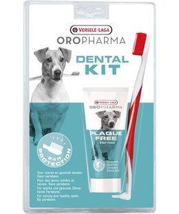 Versele Laga Plaque Free Dental Kit - Zahncreme + Zahnbürste 100 g