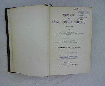 Zur Bestimmung des Kupfers durch Überführung des Schwefelkupfers in Kupferoxyd (Briefliche Mittheilung), in ZEITSCHRIFT FÜR ANALYTISCHE CHEMIE 28. Jahrgang (1889)