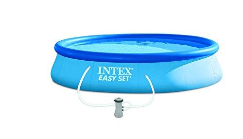 Intex-Easy Set Pool-Set, blau 457x 457x 84cm, 9.800l 28158NP