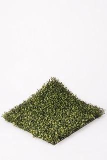 artplants Deko Buchsmatte Tom, grün, 50 x 50 cm – Künstlicher Buchs/Kunstpflanze