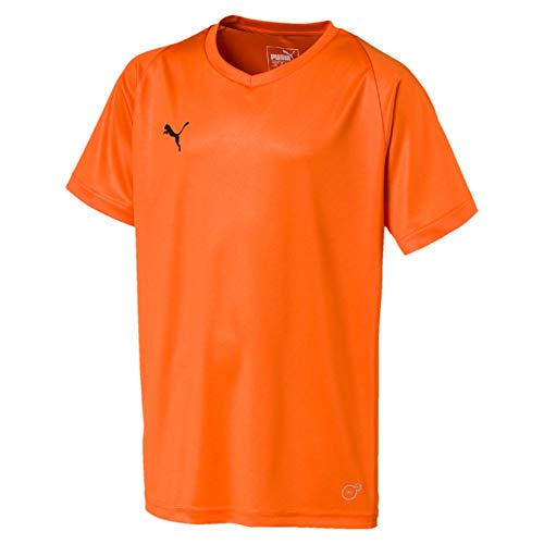 PUMA Kinder Liga Core Jersey, Golden Poppy, 152 -