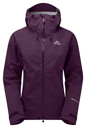 Mountain Equipment Damen Rupal Jacke, brombeerfarben, Size: 10 (Goretex Jacke Mountain Equipment)