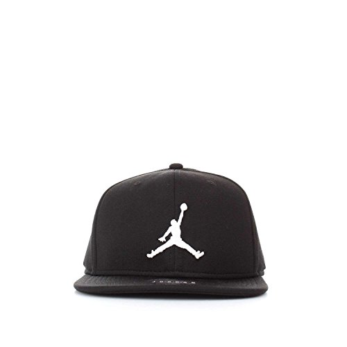 Nike jordan jumpman snapback, berretto regolabile uomo, nero/bianco, taglia unica