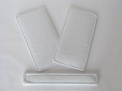 alternatives Ersatzfilter - Set G4 passend für Helios KWL EC 270 / 370 mit Bypass ELF-KWL 270/370 4/4 BP 09613 & 09617