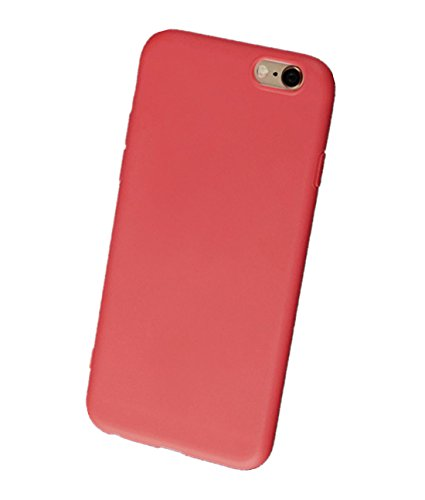 iTemer Coque Soft Tpu For iPhone 6/6s, Ultra Léger Ultra Mince Anti-Rayures Silicone En Gel Souple Housse Protection Coque VertA 1PC Rouge CeriseA