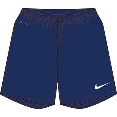 Nike - Pantaloncini DF II NB, Multicolore (Blu notte Navy/bianco), M