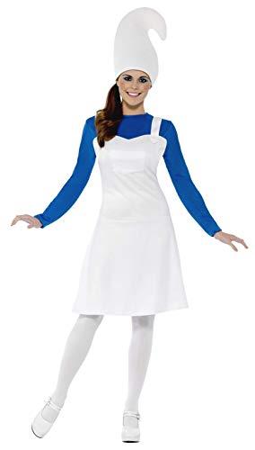 Smiffys, Damen Gartenzwerg Kostüm, Kleid und Hut, Größe: S, 23391