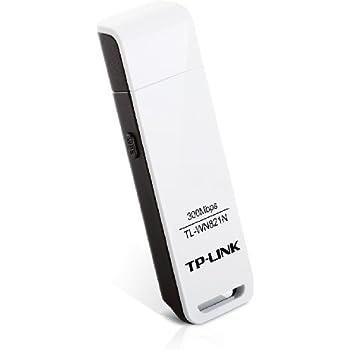 TP-Link TL-WN821N WLAN USB Adapter (bis zu 300 Mbit/s, WPS, unterstützt Windows 2000, XP, Vista und 7, Version 5.0) weiß [Amazon frustfreie Verpackung]