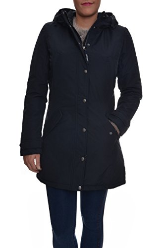 Giaccone Donna WOOLRICH WYCPS0379 CN02 Cotone nylon Evelyn parka Autunno Inverno 2016 Blu L