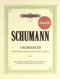 3 ROMANZEN OP 94 - arrangiert für Violine - (Oboe) - Klavier [Noten / Sheetmusic] Komponist: SCHUMANN ROBERT