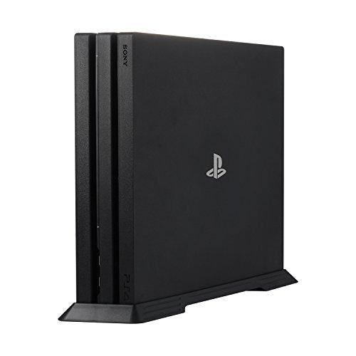 Younik VG-04 PS4 Pro Vertikaler Standfuß für Playstation 4 Pro mit integrierten Kühlschächten und rutschfesten Füßen