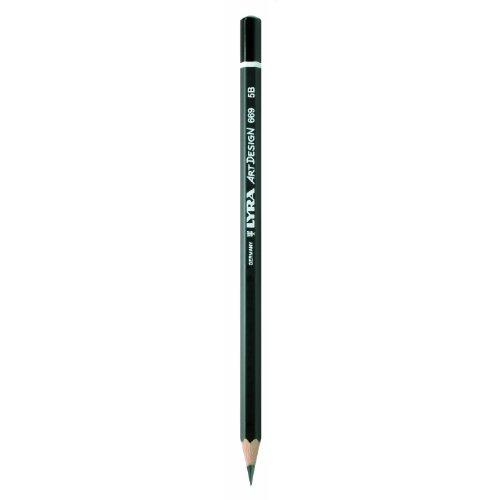 Bleistift LYRA ART Design 178x7mm 4B PG/12ST