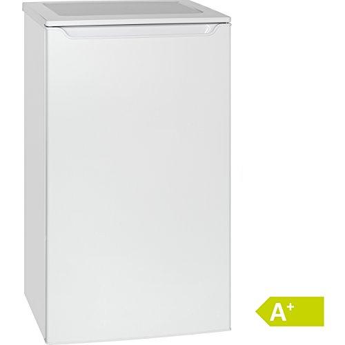 Bomann VS 2262 Kühlschrank/A+ / 85.3 cm / 109 kWh/Jahr / 87 L Kühlteil/justierbare Standfüße/weiß