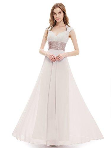 Ever Pretty Chiffon Long Dresses for Girls 18UK Mushroom EP09672MR14