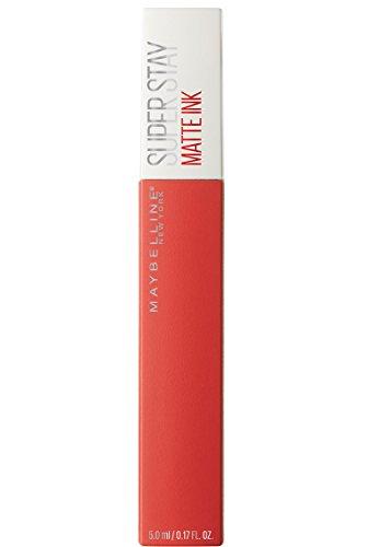 Maybelline New York Barra de Labios Mate Superstay Matte Ink, Tono 25 Heroine