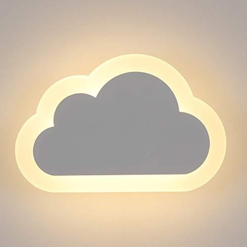 Wandleuchte,Moderne Led Wandleuchte Wohnzimmer Kinderzimmer Dekor Wolken Wandleuchten Acryl & Eisen Minimalistischen Wandleuchte Lampe (Square-eisen-wand-dekor)