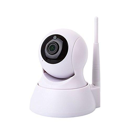 Anyutai 720P Netzwerk-Nachtsicht-Überwachungskamera Weißer Videomonitor Home Security