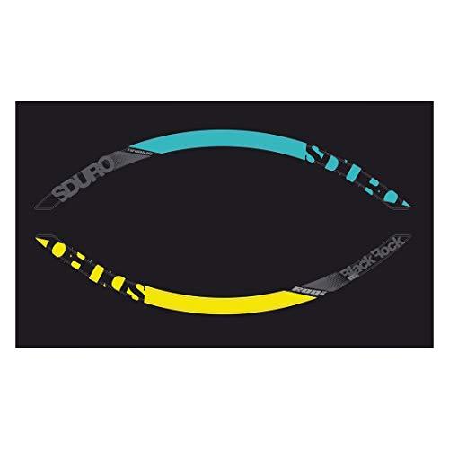 Haibike Felgen Dekor Yamaha 27,5' 2016, grau+gelb+Cyan, gebraucht kaufen  Wird an jeden Ort in Deutschland