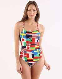 Arena Flags High One Piece Multicolor W 36