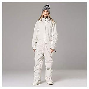 LDDOTR Skianzug Frauen Und Männer Mountain Ski Jacket + Snowboard Pants Female wasserdichte Winter-Warmer Schnee-Overall,MENA,S