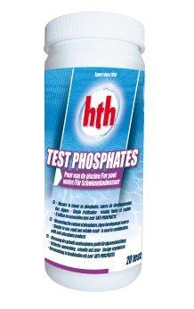 hth Phosphate Teststreifen - Test Phosphates 10 Teststreifen - einzeln verpackt - mit Testampulle und Farbkarte