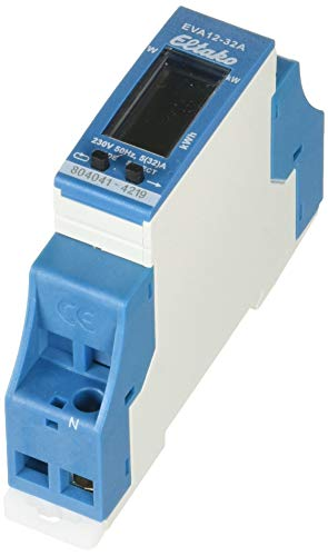 Eltako EVA12-32A - Rivelatore di consumo energetico con display digitale