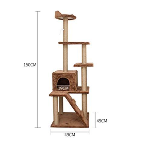 tern Rahmen Katze Kratzbrett Katze springen Spielzeug,11 ()