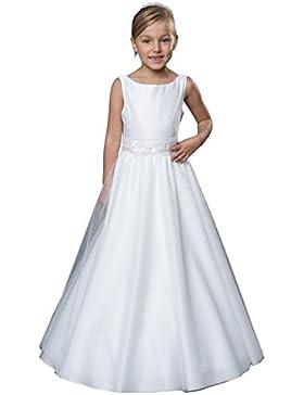 MGT-Shop Mädchen Kinderkleid Mädchenkleider Konfirmationskleid Kommunionskleid Taufkleid Blumenmädchenkleider...
