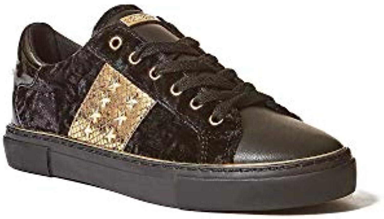 Guess scarpe da ginnastica Donna Nero oro Laminato FLGA24FAB12 18 19   Prodotti di alta qualità    Uomini/Donne Scarpa