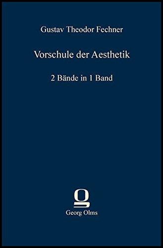 Vorschule der Aesthetik: 2 Bände in 1 Band