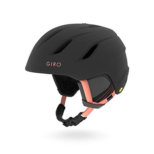 Giro Damen Helm Era MIPS Snow, Damen, GIWHWERMBP9S, Matte Black/Peach, S 52-55.5cm