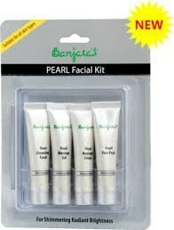 Banjara\'s Facial Kit, Pearl (Pack of 4)