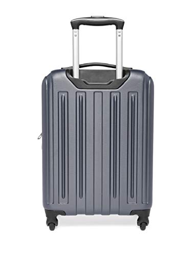 Best swiss gear bags in India 2020 Swiss Gear Unisex Rubber and ABS Expandable Hardside 19 Inches Spinner Luggage Suitcase (Gray) Image 4