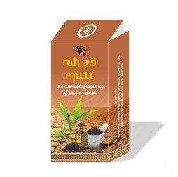 attar ruh ae mitti alcohol free 4ml