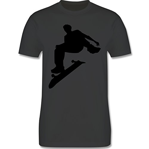 Sonstige Sportarten - Skater - Herren Premium T-Shirt Dunkelgrau