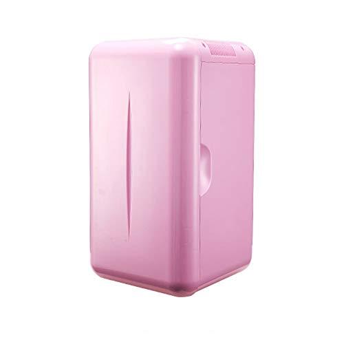 Home Mini-Kühlschrank, Mobile Kühl-Hautpflege-Kühlschrank, Leiser, Geräuscharmer Und Praktischer Bierkühlschrank For Die Wohnküche, Usw, Blau, Pink (Color : Pink) (2-wege-tür-scharniere)