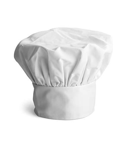 Gorro Cocinero, Set De 3 gorros Chefs Ajustable, Para Chef, Pasteleria y Reposteria, Uniformes De Trabajo Mujer y Yombre