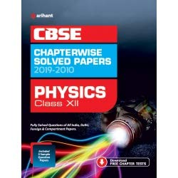 CBSE Physics Chapterwise Solved Paper Class 12 2019-20