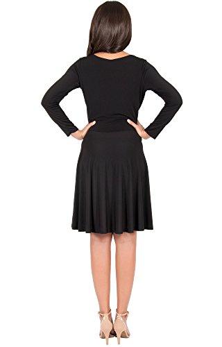 KOH KOH Da Donna Vestiti Nero