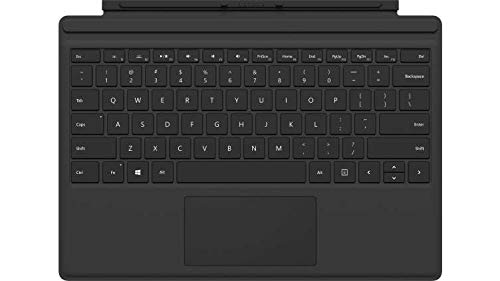 Microsoft-Surface-Pro-Type-Cover-Cover-Port-Deutsch-Schwarz-Tastatur-fr-Mobilgert--Tastaturen-fr-Mobilgerte-schwarz-Kratzresistent-Surface-Pro-3-Surface-Pro-4-Surface-Pro-TouchPad-Deutsch