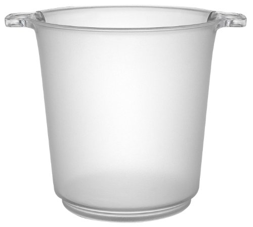 Fineline Einstellungen Platter Pleasers Klar 1Liter Ice Bucket 6Stück - Tabletop-wein Kühler