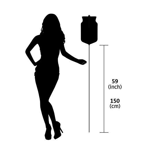 AHUO Ungiftiger Silikon-Klistierbeutel-Kit – 150 cm Silikonschlauch Für Wasser Und Kaffee Zur Reinigung des Darms,F1