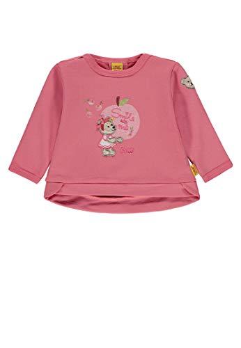 Steiff Baby - Mädchen Sweatshirt 1/1 Arm Sweatshirt, per Pack Pink (Tea Rose|Rose 2083), 62 (Herstellergröße: 62)