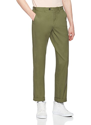 find-cotton-chino-regular-pantalon-homme-vert-olive-xxxx-large-taille-fabricant-44